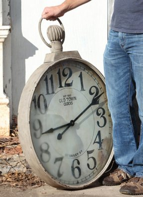 Large Pocket Watch Wall Clock Foter