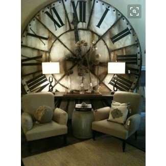 Large Vintage Wall Clock Ideas On Foter