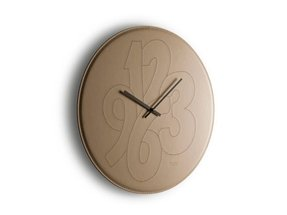 Leather wall clocks 10