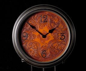 Leather wall clocks 7