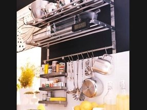 Stainless Steel Wall Spice Rack Foter