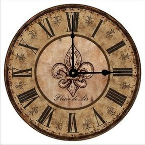 Mediterranean wall clocks