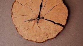 Oak wall clocks 2