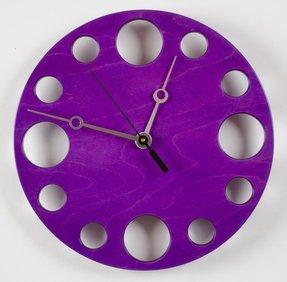 Purple Wall Clocks Foter
