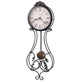 Rod iron clock