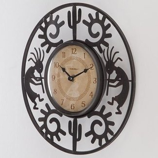 Southwestern wall clocks 6
