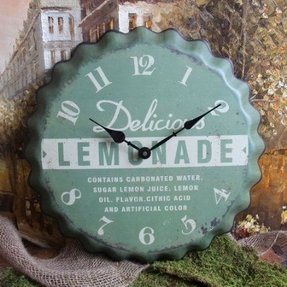 Tin wall clocks 3