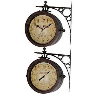 Rustic Outdoor Thermometer Ideas On Foter