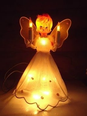 Vintage Noma Heavenly Angel Lighted Christmas Tree Topper Product 1491