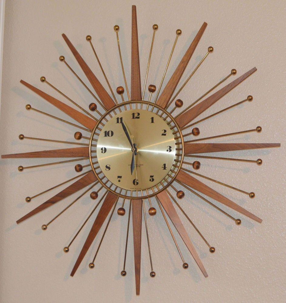Awe Inspiring Westclox Wall Clocks Ideas On Foter Home Interior And Landscaping Synyenasavecom