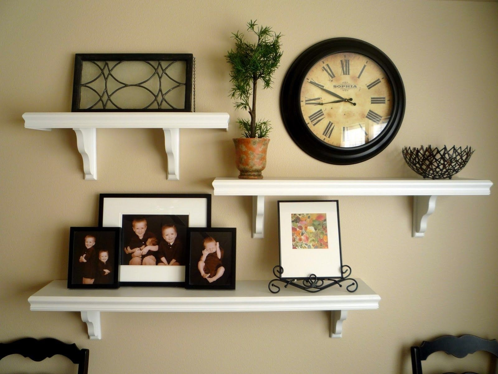 Charmant Wall Shelves Ideas Living Room