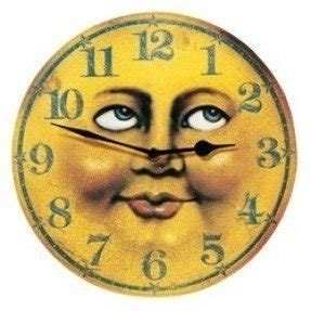 Yellow wall clocks 2