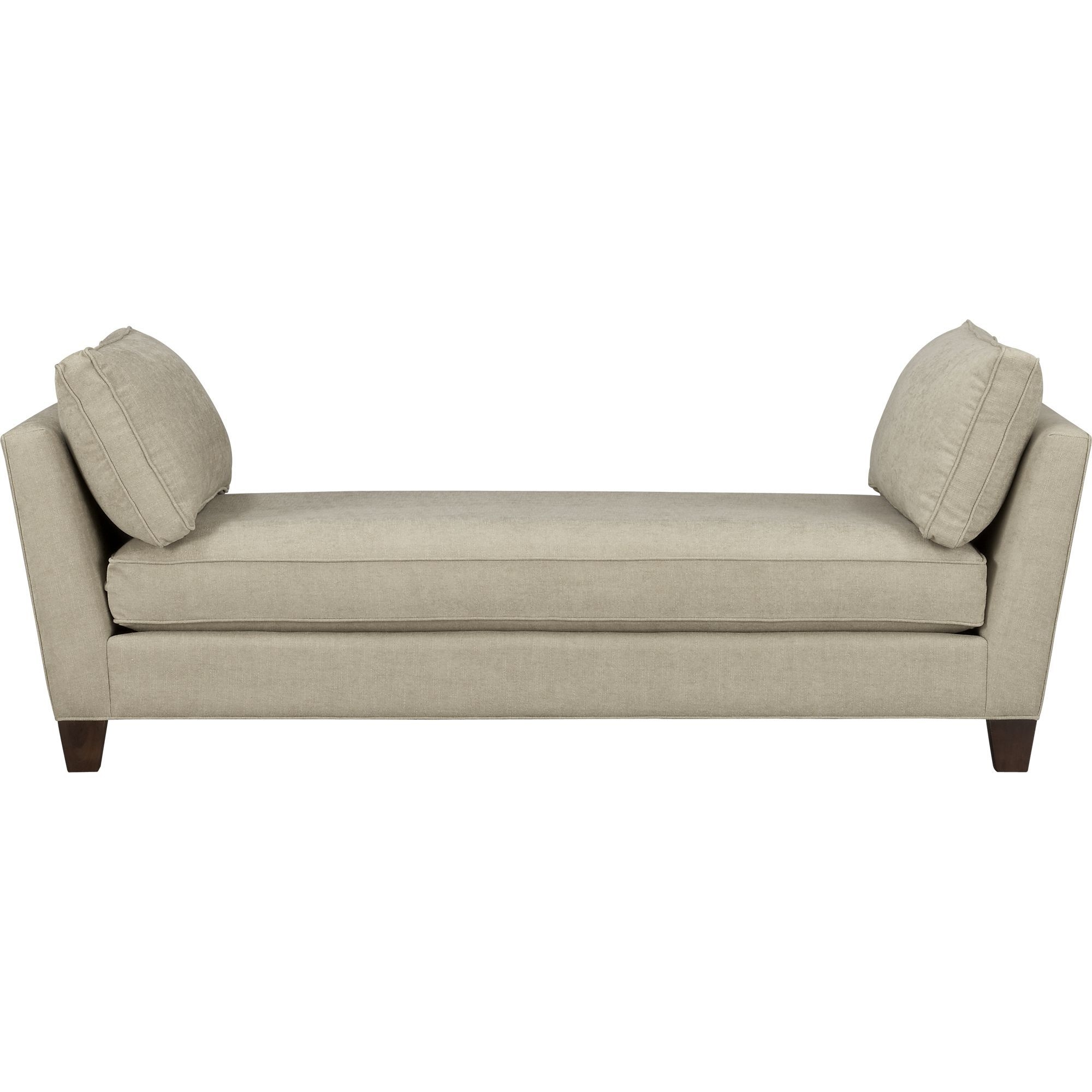 Merveilleux Backless Sofa Daybed