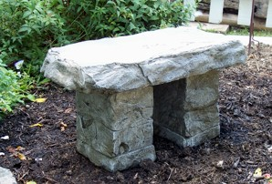 Benches Lowes. Concrete Benches Lowes