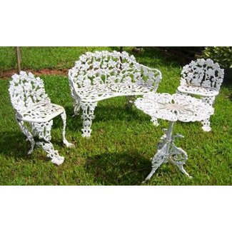 Brilliant Wrought Iron Patio Furniture Sets Ideas On Foter Pabps2019 Chair Design Images Pabps2019Com