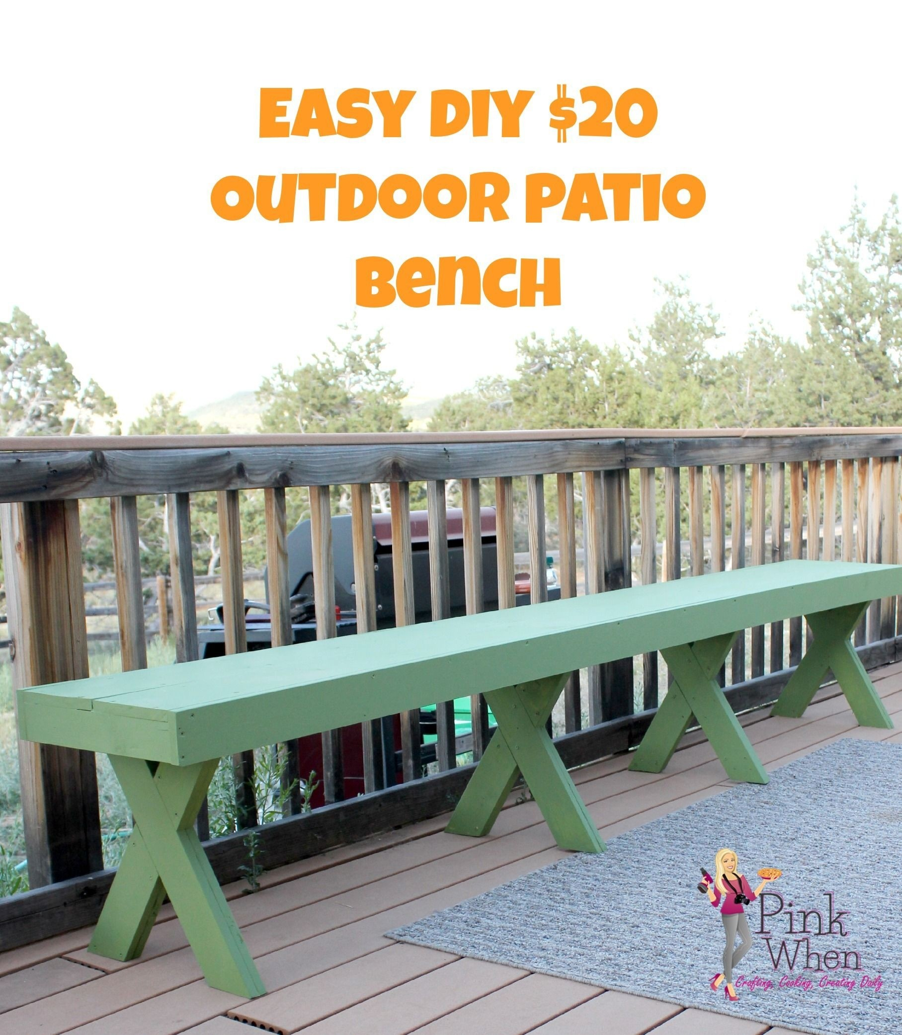Cheap Outdoor Benches