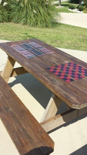 Chess Checkers Backgammon Table   Ideas On Foter