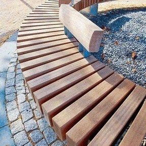 Magnificent Curved Benches Outdoor Ideas On Foter Pdpeps Interior Chair Design Pdpepsorg