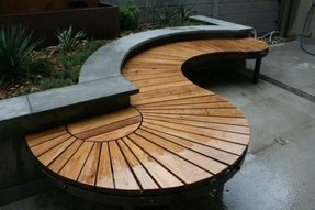 Cool Curved Benches Outdoor Ideas On Foter Creativecarmelina Interior Chair Design Creativecarmelinacom