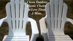 Clean Your Outdoor Plastic Patio Furniture In Less Than 2