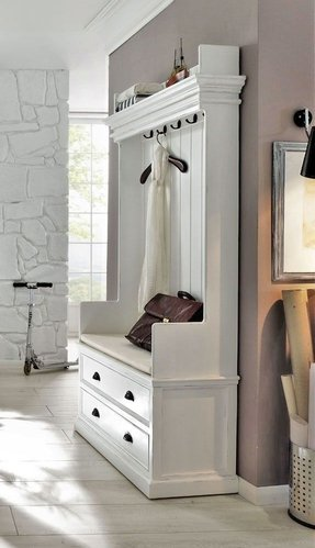 Cloakroom storage ideas