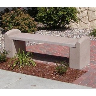 Genial Concrete Garden Bench Lowes