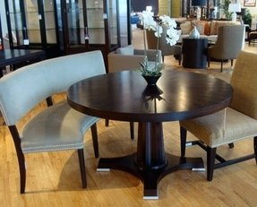 Dining Table Bench With Back 11