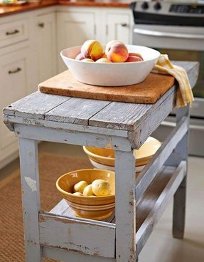 Distressed wood kitchen tables 3