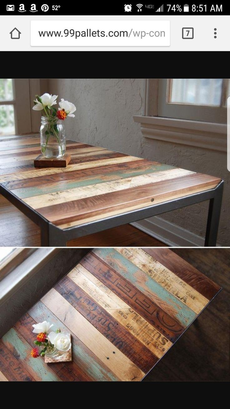 Beau Distressed Wood Kitchen Tables