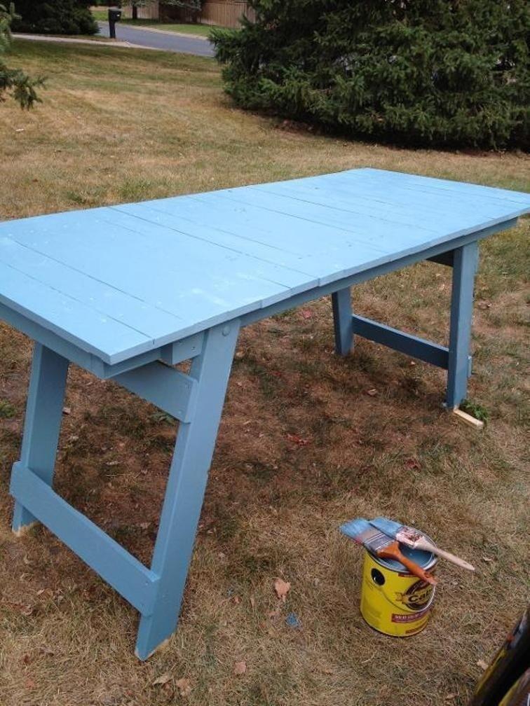 Diy Fold Up Table