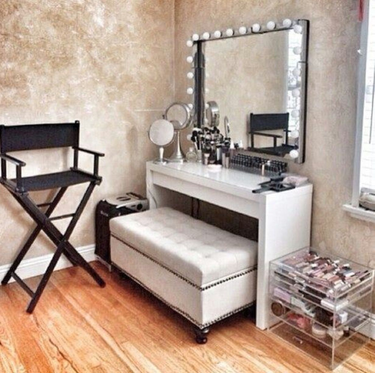 Diy Makeup Station