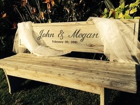 Engraved benches 3