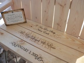 Engraved benches 5