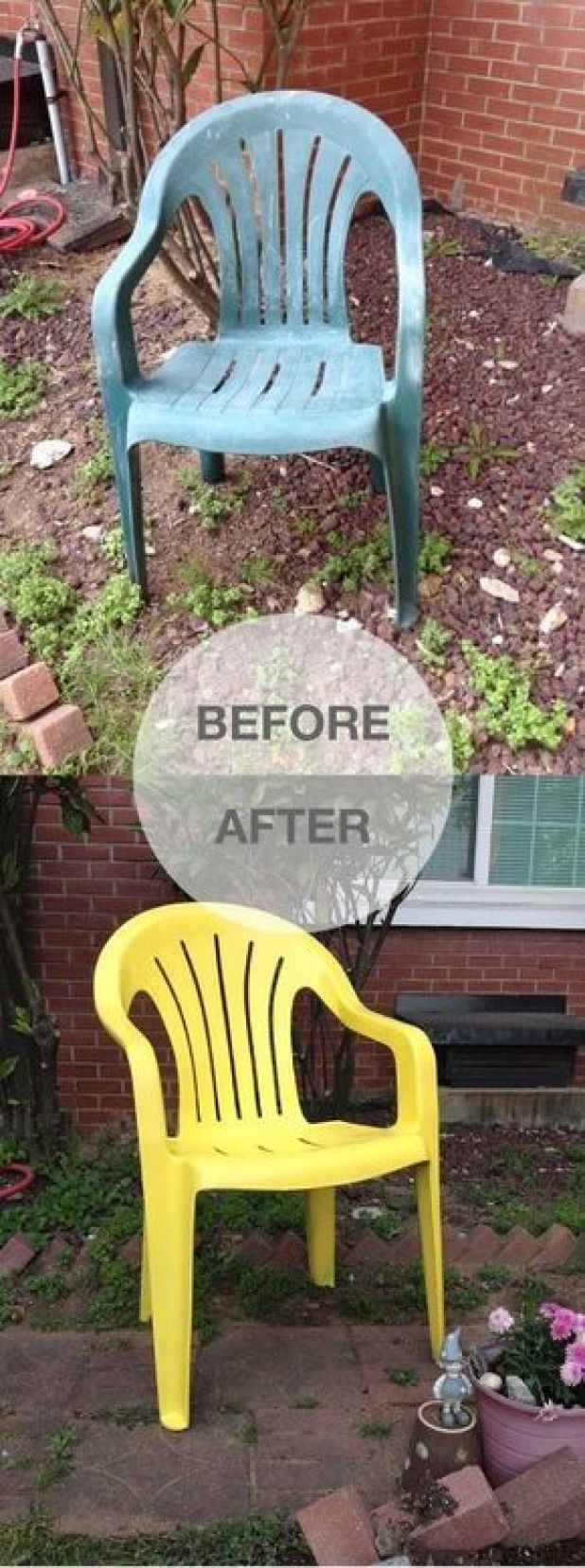 Charmant From Dumpster To Delightful In 6 Easy Steps Spray Paint