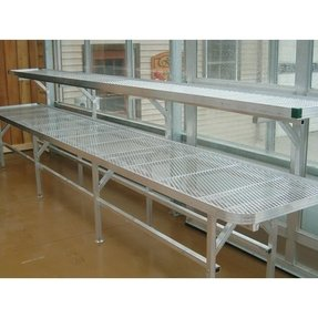Greenhouse accessories greenhouse shelving benching premium greenhouse benches