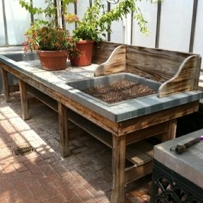 Greenhouse benches 10