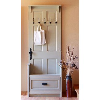 Hall Tree Coat Rack Storage Bench Ideas On Foter
