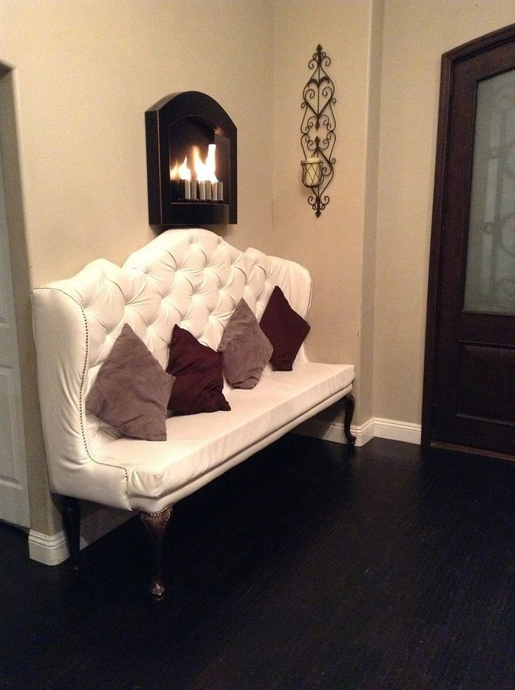 High Back Banquette Bench