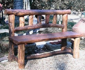 Astonishing Log Benches Ideas On Foter Download Free Architecture Designs Embacsunscenecom