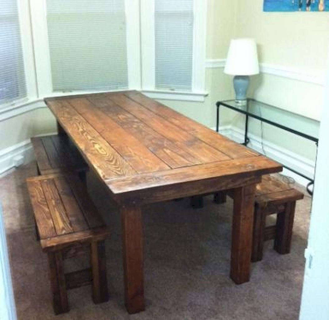 Wood Benches For Dining Tables - Foter