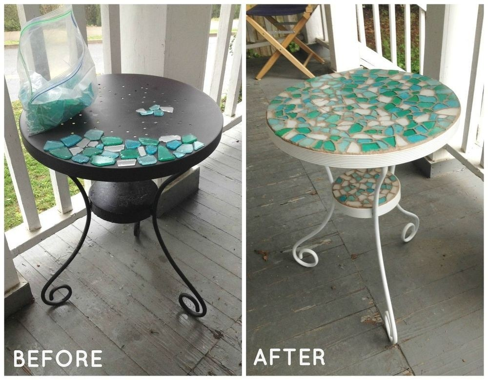 Superbe How To Paint Glass Table Top