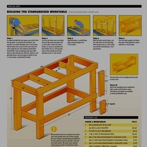 Image of garage work bench workbench plans for garage and