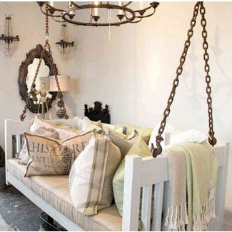 Indoor porch swing