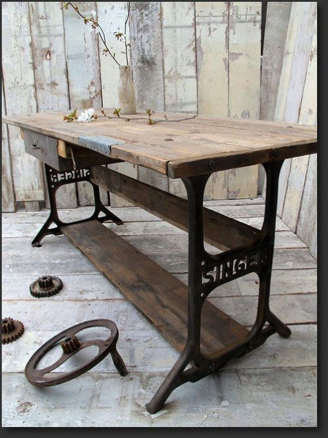 Nice Industrial Sofa Table