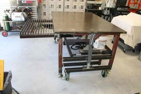Metal work benches 4