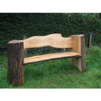 Tremendous Log Benches For 2020 Ideas On Foter Machost Co Dining Chair Design Ideas Machostcouk