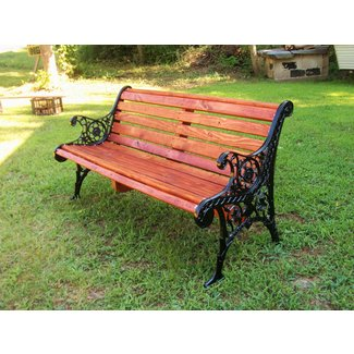 Admirable Wrought Iron Patio Benches Ideas On Foter Evergreenethics Interior Chair Design Evergreenethicsorg