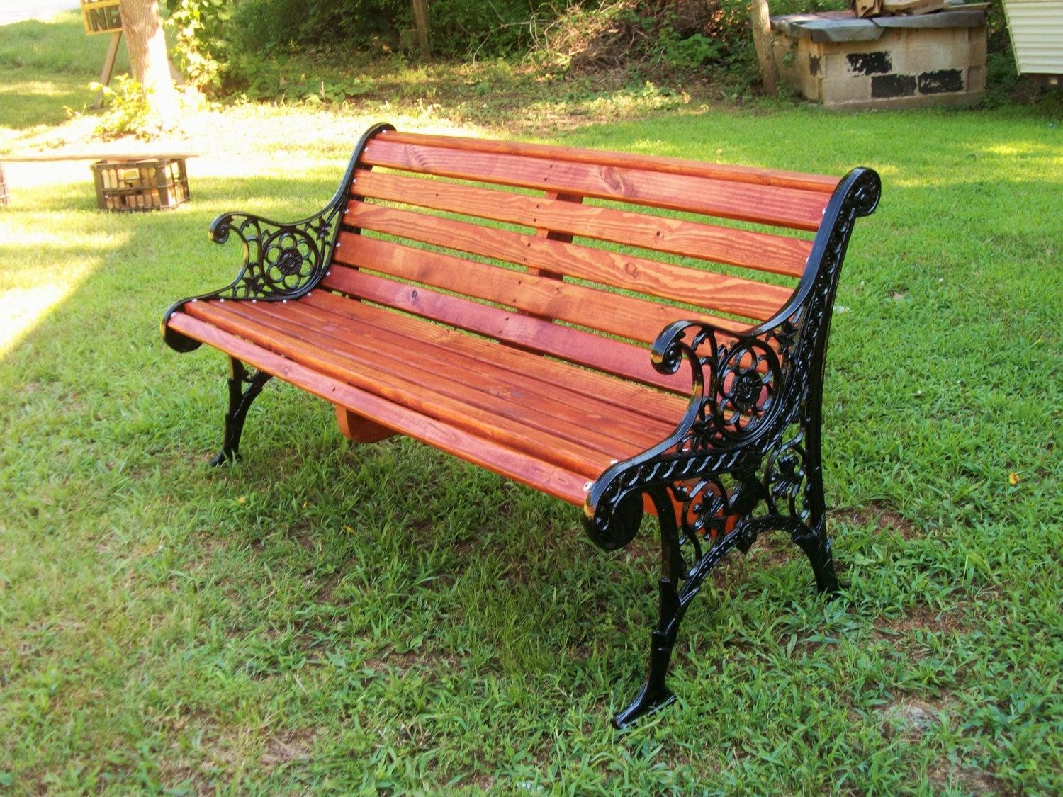 Patio Bench Restorationyard Benchwrought