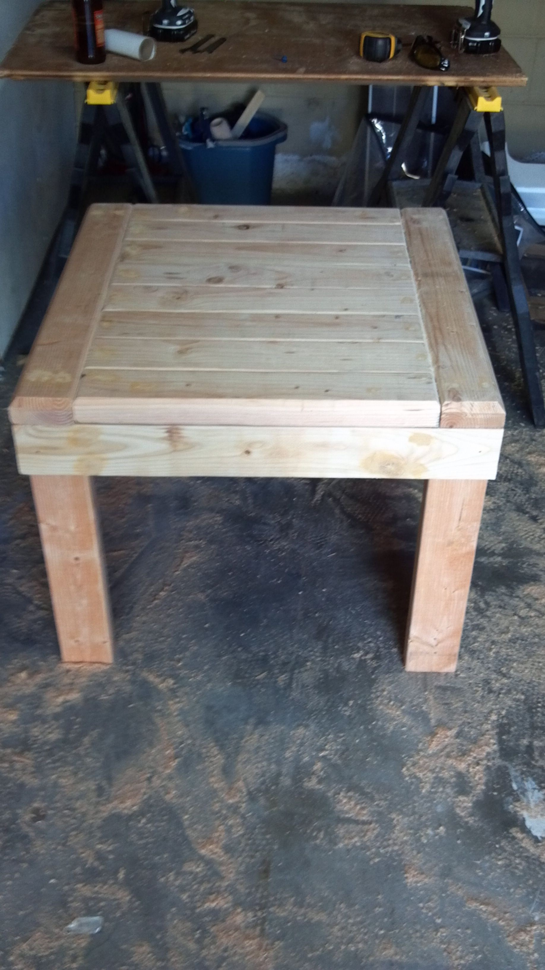 patio side tables foter rh foter com diy outdoor patio coffee table Patio Table Tops