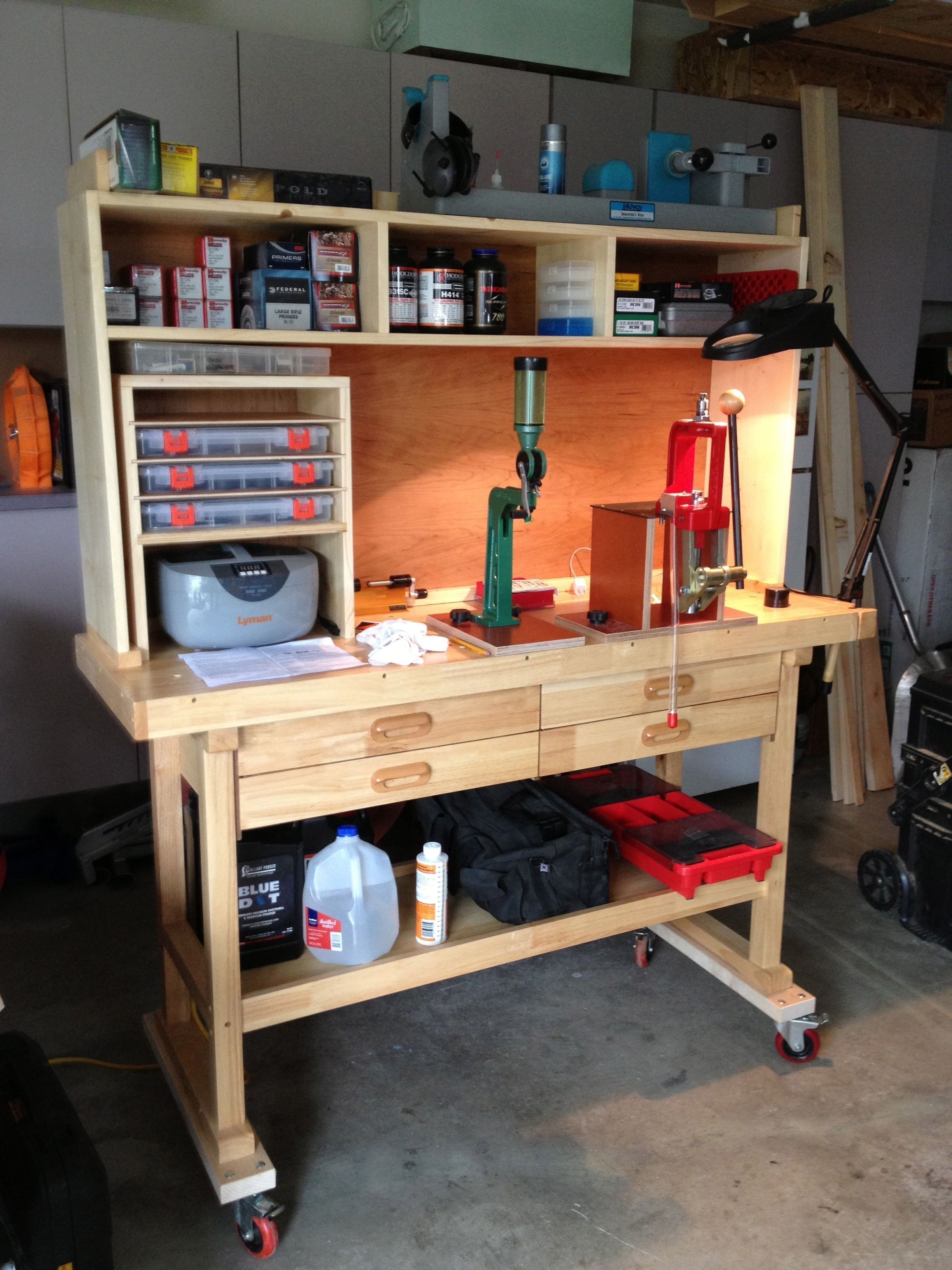 Awesome Portable Reloading Bench Plans